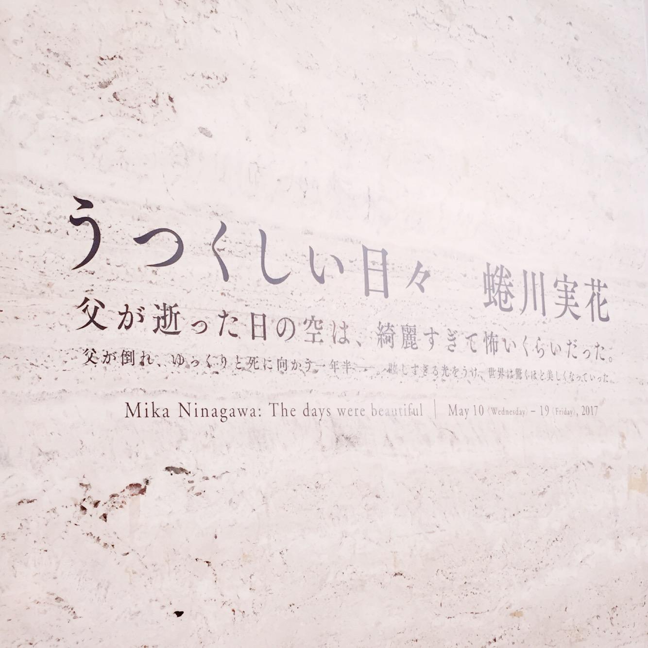 蜷川実花さんのうつくしい日々をみてきました